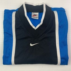 NIKE Sports Mens Vtg  V Neck Tee Shirt Size S
